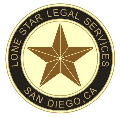 LONE STAR (Cirlcle Logo)Rust Star
